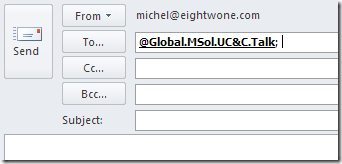 Disabling Distribution Group Expansion in Outlook | EighTwOne (821)